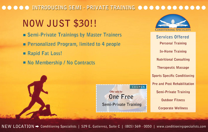 Semi-Private Personal Training